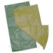 Мешки полипропиленовые зеленые 55х95 10/100 фото