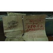 Мешки бумажные, открытые, (уголь древесный)1.5, 3 кг. фото