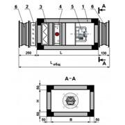 Вентиляционно-климатическая установка без встроенной системы охлаждения фото