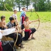 Детский лагерь в козацком стиле фото