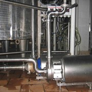 Монтаж и обвязка оборудования пищевой промышленности фото