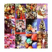 Пакет подарочный новогодний большой фото