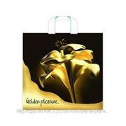 Пакет подарочный полиэтиленовый Golden Pleasure фото