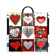 Пакет подарочный полиэтиленовый Creative Heart фото