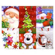 Пакет подарочный новогодний малый фото