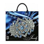 Пакет подарочный полиэтиленовый Jewelry фото