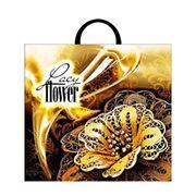 Пакет подарочный полиэтиленовый Lacy Flower фото