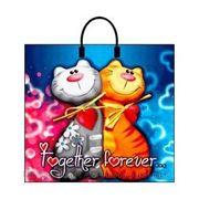 Пакет подарочный полиэтиленовый Together Forever фото