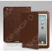 Чехол для iPad 2/ iPad new Yoobao Lively Leather Case. Цвет: кофейный фото