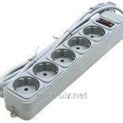 Фильтр питания Gembird Power Cube 5 розеток 3м (SPG5-G-10G) серый, код 61989 фото