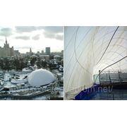 Реализация архитектурных идей на основе воздухоопорного сооружения. фото
