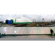 Воздухоопорное сооружение под производство. Длина 80, ширина 50 метров. фото