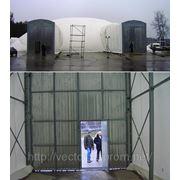 Воздухоопорное сооружение с транспорным шлюзом фото