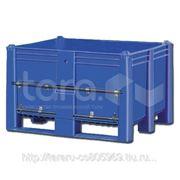 Пластиковый контейнер (Box Pallet) арт. 11-100-DA (с нижней дверцей) фото