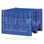 Пластиковый контейнер (Box Pallet) арт. 11-112-DA (с нижней дверцей) фото
