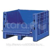 Пластиковый контейнер (Box Pallet) арт. 11-112-DA с верхней дверцей фото