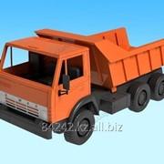 Автотранспортная игрушка Автомобиль К-маз Б, самосвал Х2Орион фото