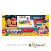"""Магазин Keenway Набор """"Супермаркет"""":кассов. аппарат, продукты-свет,звук [30251] фото"""