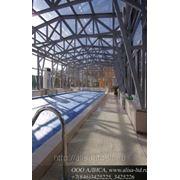 Алюминиевые конструкции стеклянный фото