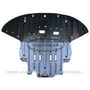 Защита моторного отсека увеличенной площади для viano (2007...) фото