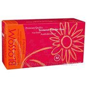 Перчатки Blossom латексные текстурир. не опудренные фото