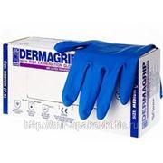 Перчатки смотровые нест Dermagrip Hign Risk powder free М 10/25 фото
