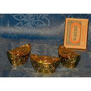 Слитки золота сувенирные фото