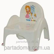 Горшок-кресло Tega веселка lp-007 принцесы белый фото