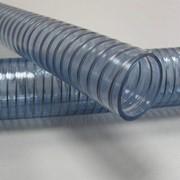 Шланг из ПВХ усиленный стальной спиралью Wire Food фото