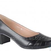 Туфли женские 107-411, черный фото