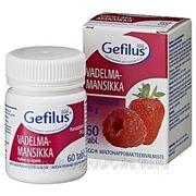 GEFILUS LGG МАЛИНА-КЛУБНИКА Гефилус Бифидо и лактобактерии 60 жевательных таблеток фото