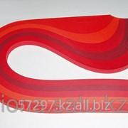 Бумага набор №26 130гр., 300мм., 150 полос, 5 цветов красный микс фото