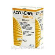 Ланцеты Акку-Чек Софткликс — Accu-Chek Softclix 200штук фото