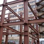 Монтаж металлоконструкций любой сложности фото