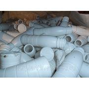 Производственные Отходы ПЭНД белого цвета фото