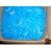 ПП отходы производства Полипропилена (PP) (брак производства шприцев) СИНИЙ фото