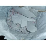 ПП Вторичный Полипропилен ПП 010-30 дроблёнка цвет микс фото