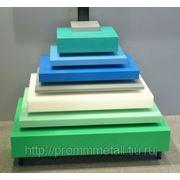 Промышленный пластик РЕ500 10 мм синий фото