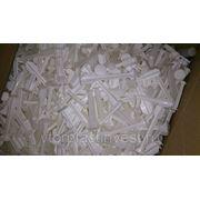 ПП производственные отходы Полипропилена (PP) белого цвета-брак производства шприцев фотография