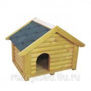 Дом для собаки большой с мягкой кровлей (К) фото