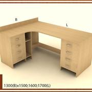 Стол для офиса деревянный фото