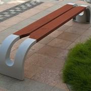 Дизайн городской мебели фото