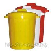Бак многоразовый для сбора, хранения медицинских отходов (класс А, Б, В) 65л фото