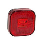 Фонарь контурный FT-027 C LED QS075 красный с проводом 599203 FRISTOM фото