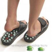 "Тапочки рефлекторные ""Сила Йоги"" (Spring Acupuncture Massage Slippers) фото"