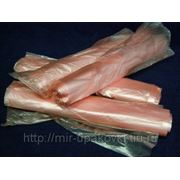 Пакет фасовочный рул (30х40)-10 розовый Восход (5х100) /20 фото