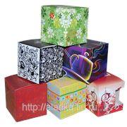 Коробка подарочная под кружки в ассортименте фото