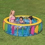 "Надувной бассейн ""Радуга"" Multi-Colored Pool фото"
