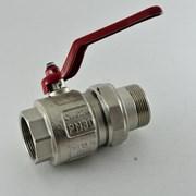 Кран латунный шаровой Itap Ideal 298 Ду 20 Ру угловой со сгоном фото