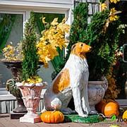 Садовая фигура Борзая фото